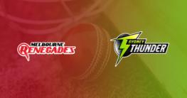 Melbourne Renegades vs Sydney Thunder BBL Betting Tips