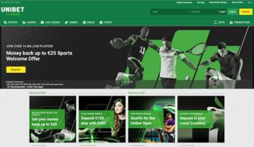 Unibet Sportsbook Ratings