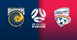 Adelaide United vs Central Coast Marinerss