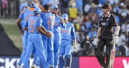 New Zealand vs India 3rd ODI Match