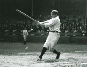 Baseball Player Babe Ruth