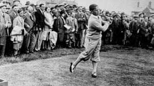 Golf Player Booby Jones