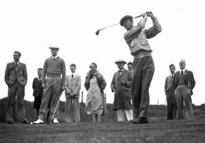 Golfer Brian Nelson