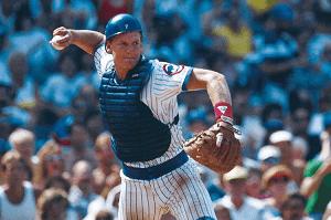 Baseball Player Jody Davis